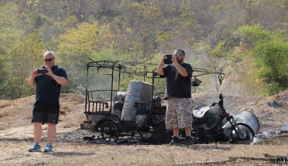 Shooting range club activities Cambodia
