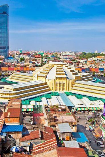 Central market of Cambodia